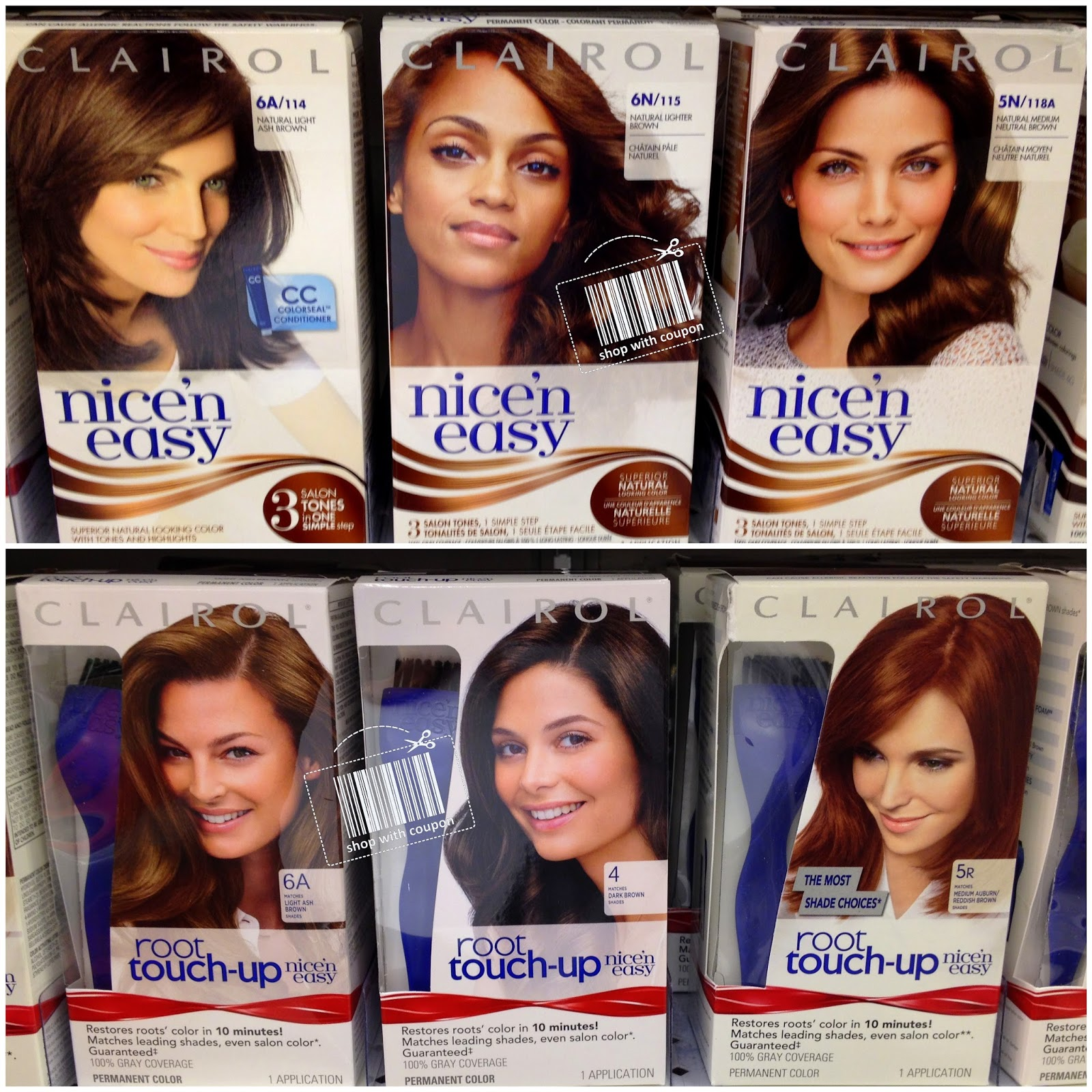 Shop With Coupon Target Clairol Nice N Easy Hair Color And