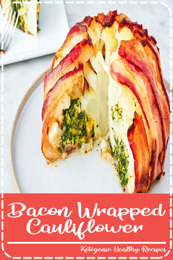 Bacon Wrapped Cauliflower