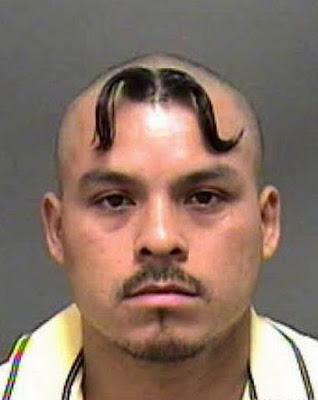 Os cortes de cabelos mais loucos do mundo.