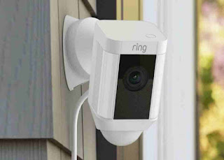 Ring Spotlight Cam Wired: Plugged-in HD security camera with built-in spotlights, Buy Online