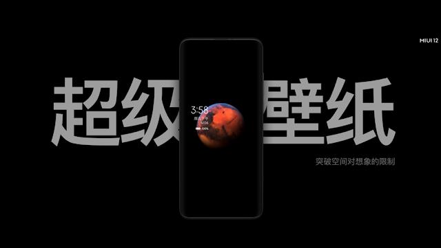 MIUI 12 da Xiaomi