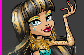 MH Cleo de Nile Figures