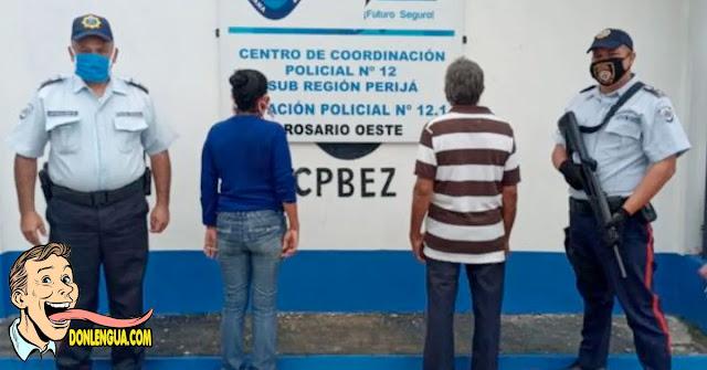 Pareja detenida en Perijá por descuartizar un caballo para vender la carne