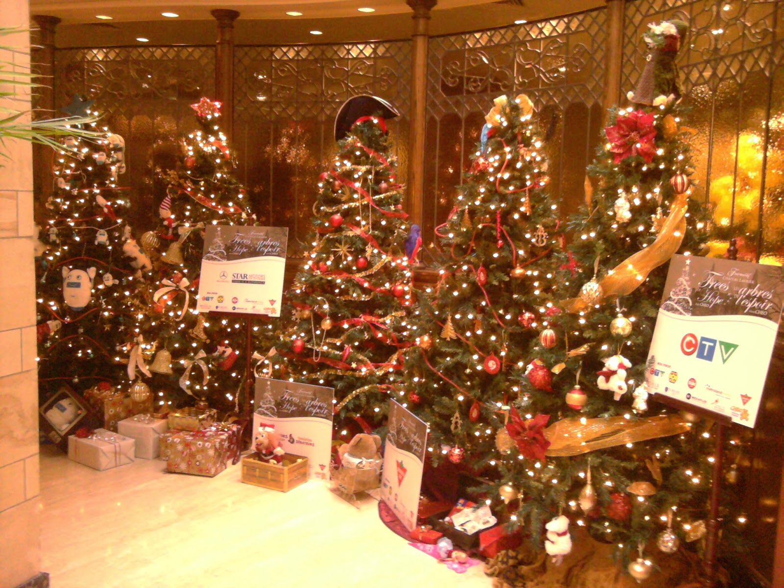 Ottawa Daily Photo: Christmas In The Chateau
