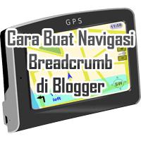 Buat Navigasi Breadcrumb di Blogger