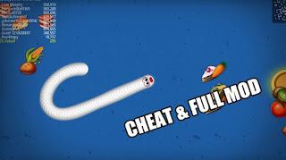 Download Worms Zone io MOD APK Cheat Kebal & Unlimited Money