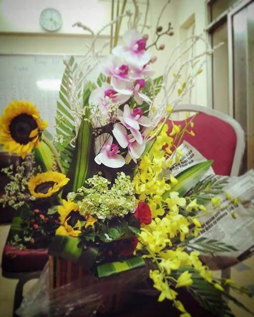 Hoa đẹp 20/10, Giỏ hoa & Lẵng hoa đẹp Ngày Phụ Nữ Việt Nam