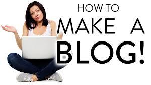 Qué hacer con un blog?