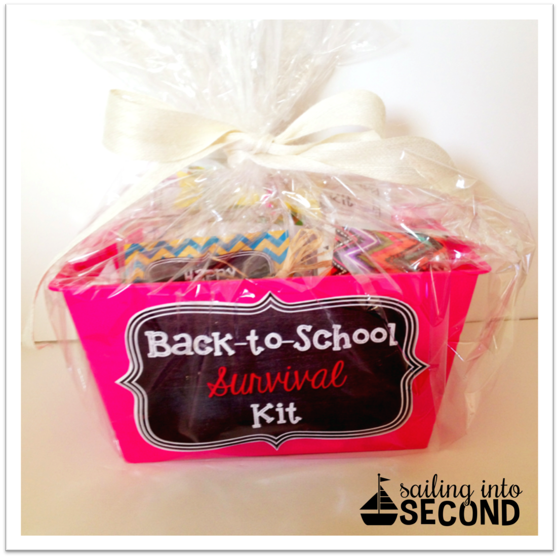 Back-to-School Survival Kit, sailing into second, blog