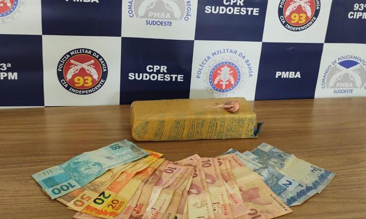 Homem é preso em flagrante por tráfico de drogas em Maracás
