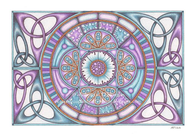 2020-01 Mandala: Hoop / Een Nieuw Begin