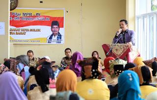 Darul Siska Sosialisasikan Empat Pilar MPR RI di Kota Solok