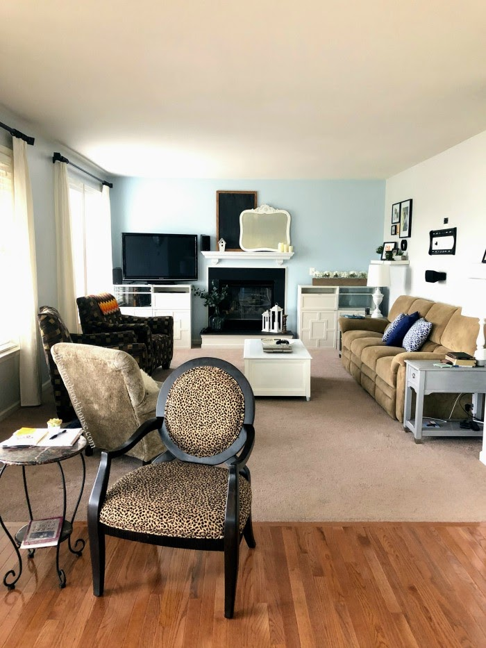 2019 living room change