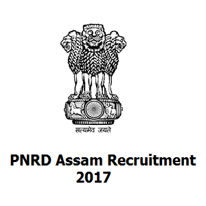PNRD Assam Recruitment 2017