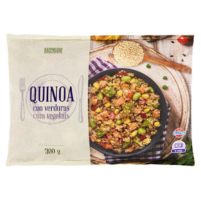 Quinoa con verduras Hacendado