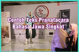 Contoh Teks Pranatacara Bahasa Jawa Singkat