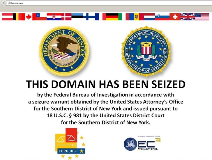 FBI Arrests 100 Hackers linked to Blackshades Malware