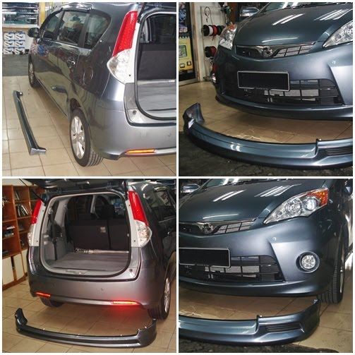Star Level Auto Accessories: Perodua Alza SE bodykits
