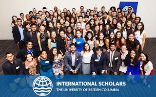 University of British Columbia International Major Entrance Scholarship