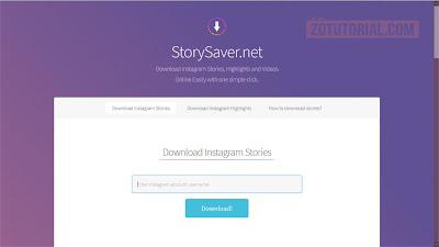 2 Cara Download Instastory IG Tanpa Aplikasi & Tanpa Log In