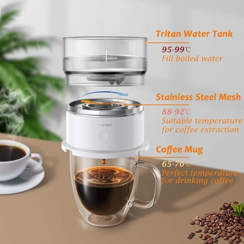 Topwit Automatic Pour Over Coffee Maker