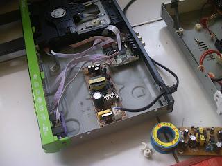 Cara mengatasi Kerusakan DVD Player Mati total