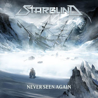 "Starblind - ""Never Seen Again"" (lyric video) from the album ""Never Seen Again"""