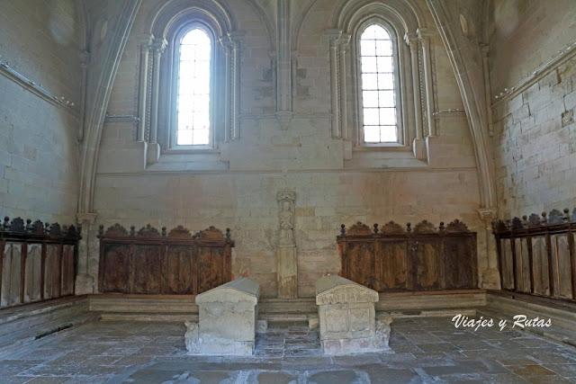 Sala capitular del Monastero de San Andrés del Arroyo