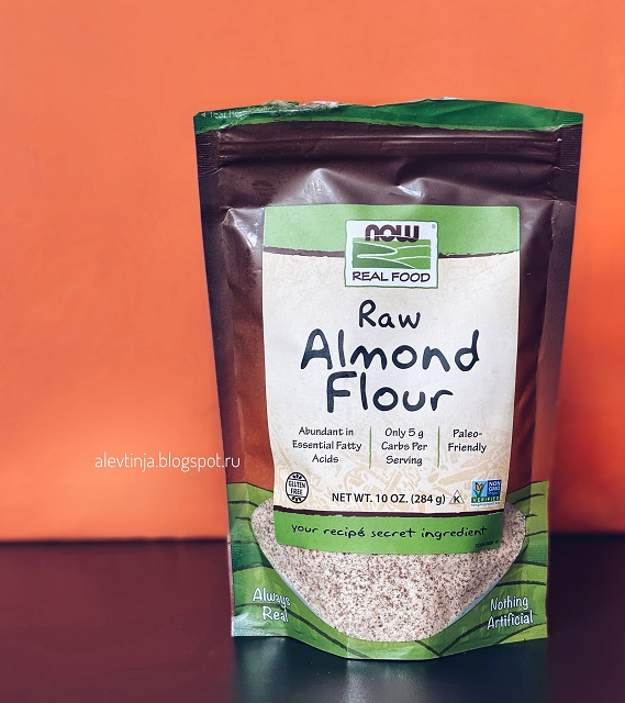 Now Foods, Real Food, Raw Almond Flour
