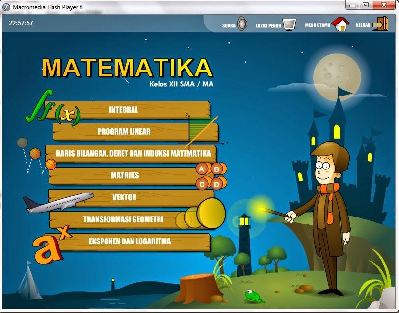 Media Pembelajaran Matematika Eksponen Dan Logaritma Media Pembelajaran Matematika Dengan Flash