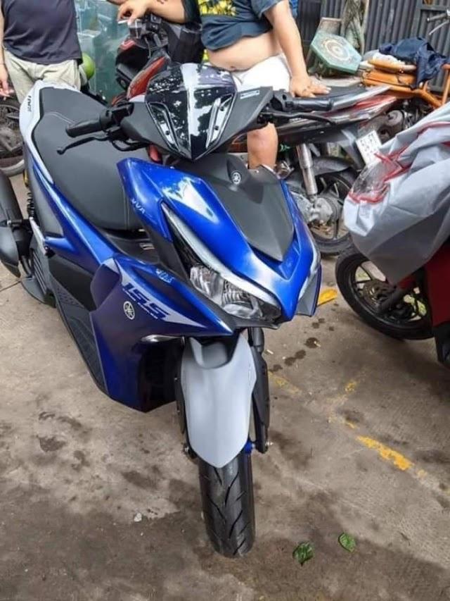 Teaser Motor Baru Yamaha, New Aerox 155 Connected?