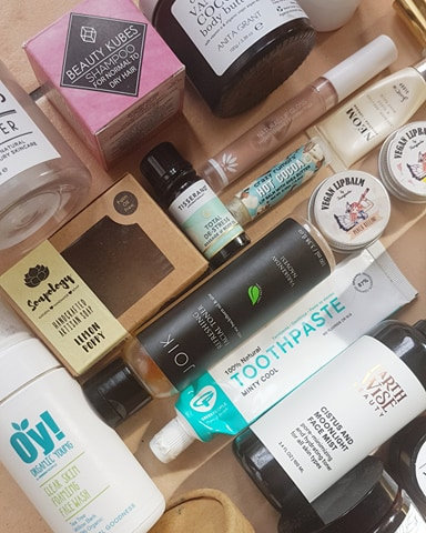 March Empties 2020 - Green Beauty Empties Haul