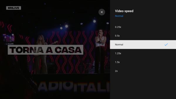Youtube em Android TV ganha controlo de velocidade