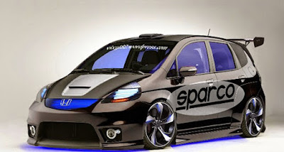 Modifikasi Mobil Honda Jazz Terkeren