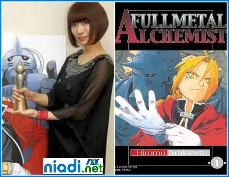 hiromu arakawa the art of fullmetal alchemist, hiromu_arakawa film, karya hiromu arakawa, hiromu arakawa anime, romi park