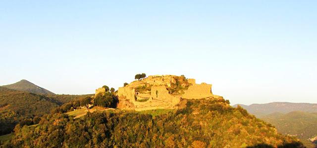 Castillo cátaro de Termes en Francia