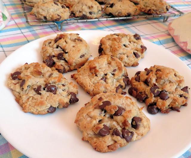 Chocolate Chip Treasure Cookies