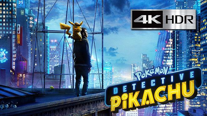 Pokémon: Detective Pikachu (2019) 4K UHD [HDR] Latino-Ingles