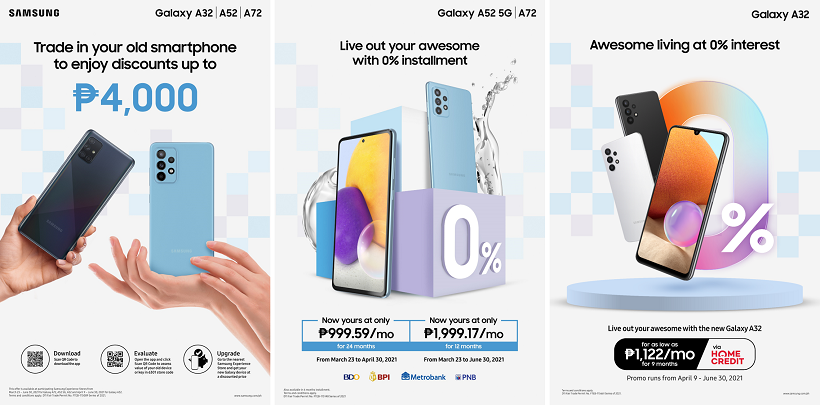 Samsung announces awesome promos for the Galaxy A-series