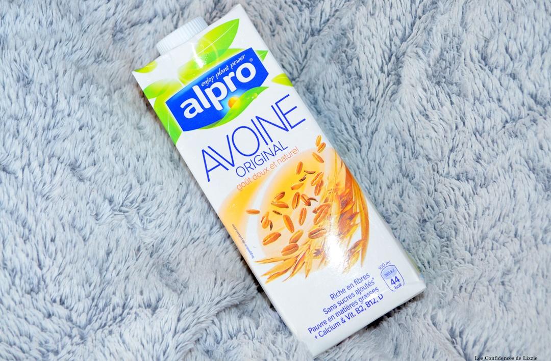 lait avoine - lait amande - alpro