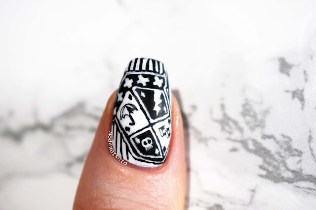 The Umbrella Academy on Netflix nerdy nails