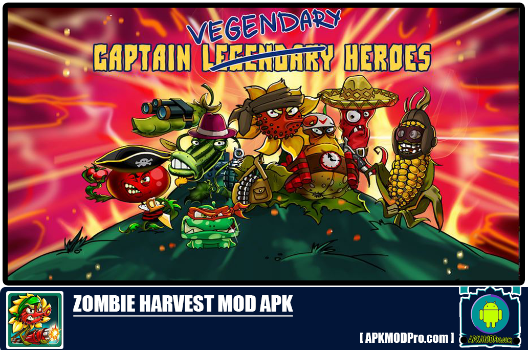 Download Zombie Harvest MOD APK