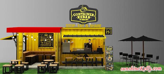 Container Kebab By Baba Rafi, Container Kebab Malaysia, Baba Rafi, Turkish Kebab, New F&B in Malaysia