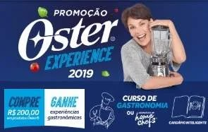 Cadastrar Promoção Oster 2019 Compre Ganhe Experiência - Carolina Ferraz