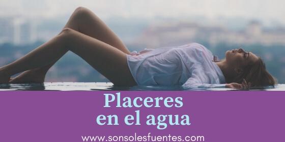 artículo de Sonsoles Fuentes sobre el Sexo en el agua, en la playa, en la piscina, en la ducha y en la bañera
