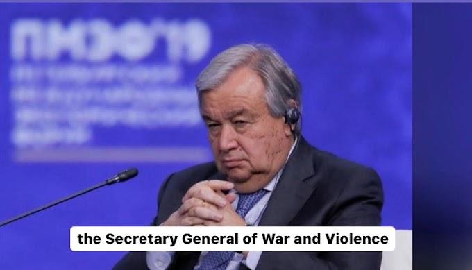 تواطؤ ''أنطونيو غوتيرش'' مع الإحتلال وتجاهل مطالب الصحراويين، يدفع في إتجاه تبني العنف ونسف عملية السلام في الصحراء الغربية.