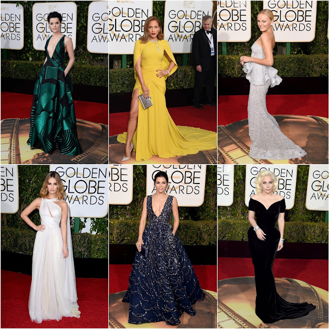 WHO WORE WHAT.....2016 Golden Globes Awards Red Carpet: Top Ten Favorite Gowns