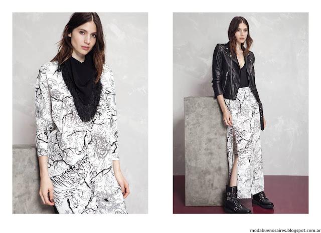 Camperas de cuero de mujer invierno 2016 Kosiuko. Moda 2016.
