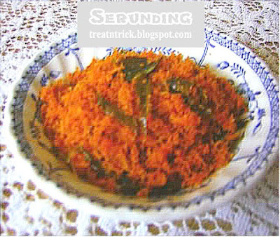 Serunding Recipe @ treatntrick.blogspot.com