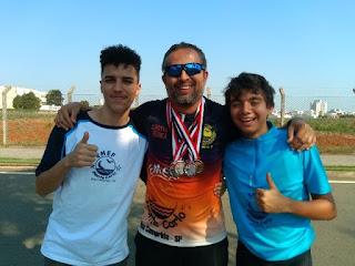 Ilha conquistou um ouro e três pratas em ciclismo e xadrez nos Jogos Escolares do Estado